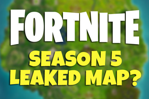 Fortnite Season 5 LEAK  New Map  revealed  with news of Epic Games     Fortnite Season 5 LEAK  New Map  revealed  as after news of new Season