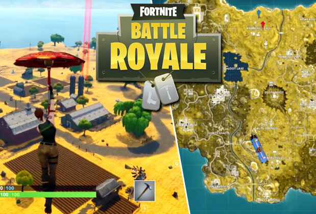 Fortnite Season 5 Map LEAK  Is Battle Royale gameplay revealed by     Fortnite Season 5 Map LEAK  Is Battle Royale gameplay revealed by Two Epic  Buddies fake
