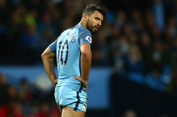 manchester city star sergio aguero could miss the next big matches
