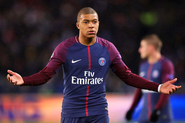 Arsenal News  PSG star Kylian Mbappe is AHEAD Thierry Henry for his     Kylian Mbappe