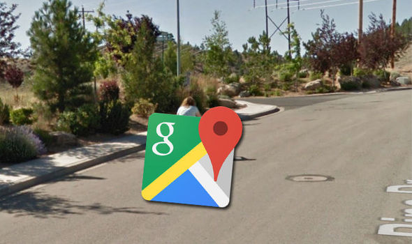 Google Maps Street View  Embarrassing fall on Friday 13 for unlucky     Google Maps Street View woman bike