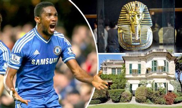 Cameroonian footballer Italian Home Curse of the Pharaoh Howard Carter curse of the Tutankhamun 558445 Ex Chelsea & Everton striker Samuel Etoo buys an Italian villa thats cursed by Tutankhamun [Pictures]