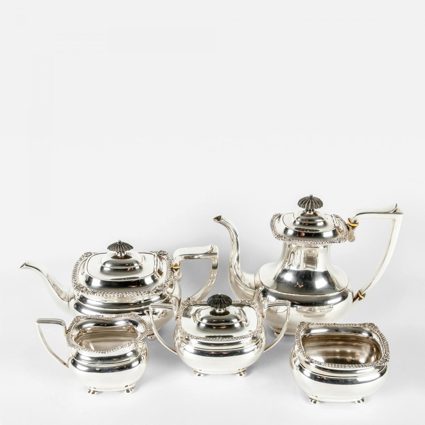 Encouraging Listings Decorative Arts Tablewares Coffee Tea Sets Silver Tea Coffee Service Silver Tea Set Worth Silver Tea Set Fb Rogers baby Silver Tea Set