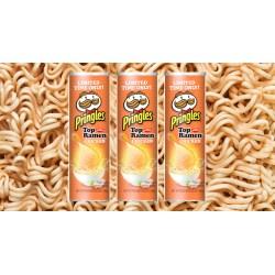 Multipurpose Pringles New Ramen Flavor Is Ultimate Snack Mixing Ramen Flavors Ramen Noodles Flavors