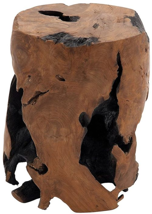 Medium Of Tree Stump Table