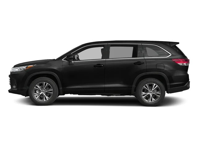 New 2018 Toyota Highlander LE Plus V6 AWD MSRP Prices   NADAguides 2018 Toyota Highlander Base Price LE Plus V6 AWD Pricing side view