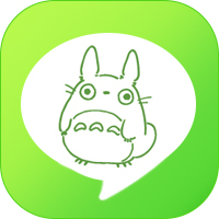 LINE_theme icon - my neighbor totoro