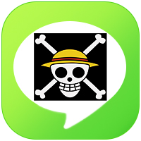 LINE_theme icon - One Piece