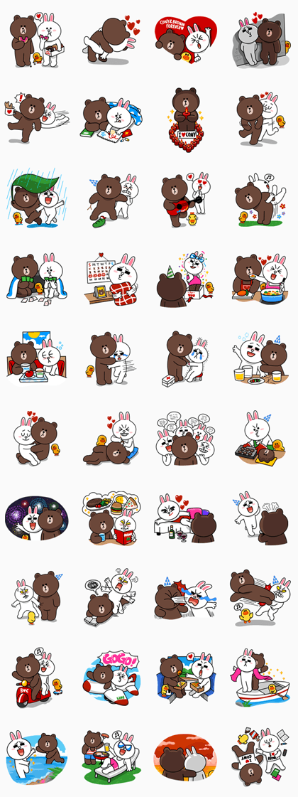 line stickers 2326