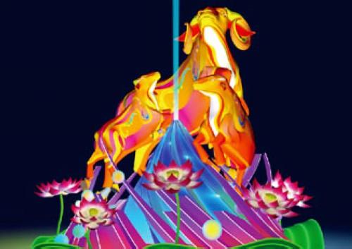 2015高雄燈會藝術節-燈飾 (1)