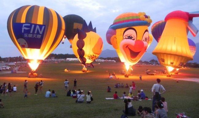 臺灣國際熱氣球嘉年華-光雕音樂會
