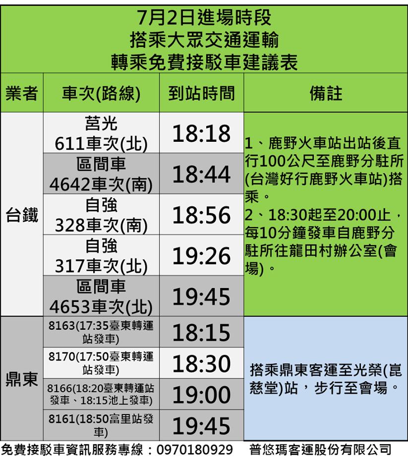 2016台東熱氣球嘉年華開幕-接駁-1