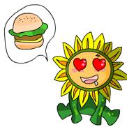 可愛向日葵2
