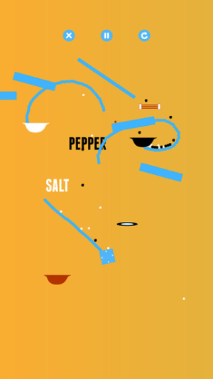 IOS限免、限時免費軟體APP遊戲-Salt & Pepper 1