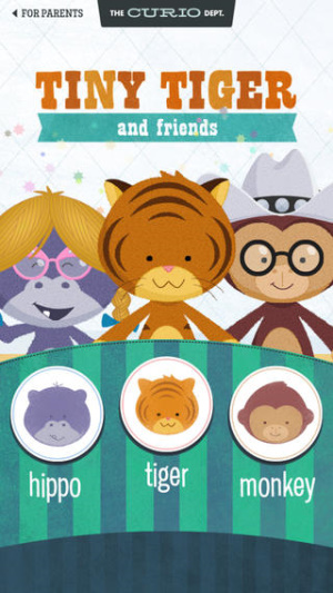 IOS限免、限時免費軟體app遊戲_Tiny Tiger and Friends 1