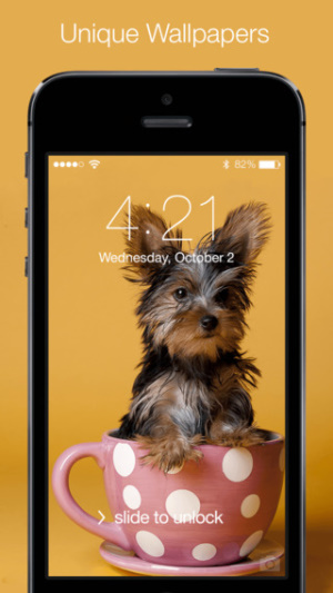 IOS限時免費軟體APP-Cute Puppies Wallpapers & Backgrounds 1