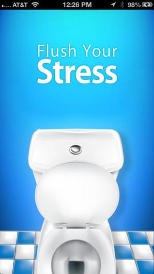 iOS限免、限時免費軟體app遊戲-Flush Your Stress 1