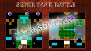 iOS限時免費軟體_Super Tank Battle 1