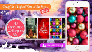 ios限免、限時免費軟體app遊戲-Christmas Wallpaper & Backgrounds 1
