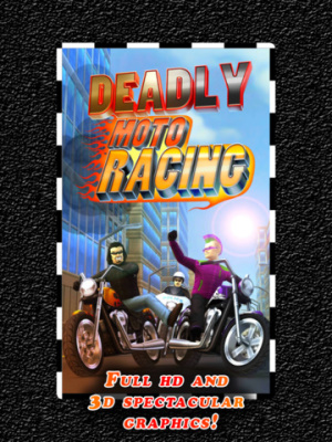 ios限免軟體-Deadly Moto Racing 1