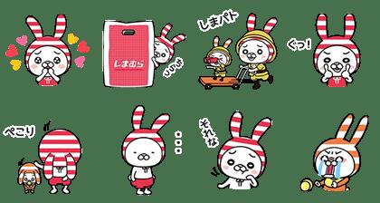 line sticker5444