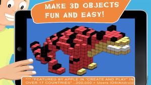 iOS限免、限時免費軟體app遊戲-Blox 3D Junior 1