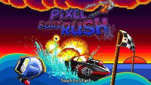 iOS限免、限時免費軟體app遊戲-Pixel Boat Rush 1