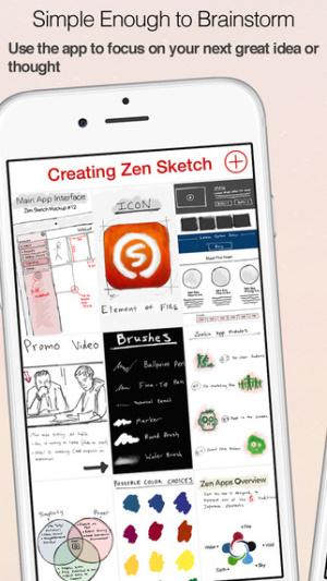 iOS限免、限時免費軟體app遊戲-Zen Sketch 2