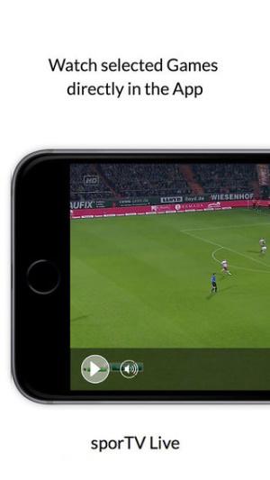 iOS限免、限時免費軟體app遊戲-sport TV Live 1