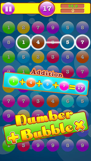 Addition & Multiplication Number Bubbles-1
