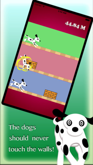 iOS限免、限時免費軟體遊戲app-Make Three Dogs From Temple Jump 2