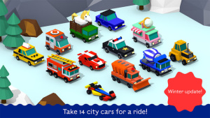 iOS限免、限時免費軟體app遊戲-City Cars Adventures by BUBL 1