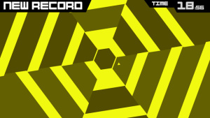 iOS限免、限時免費軟體app遊戲-Super Hexagon 1