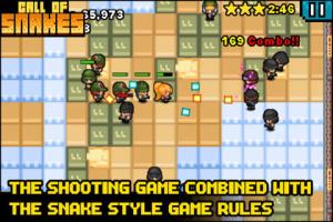 iOS限免、限時免費app軟體遊戲-Call of Snakes 2