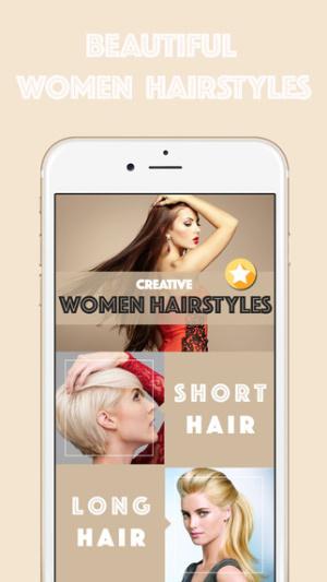ios限免、限時免費軟體app遊戲-Women Hairstyles 1