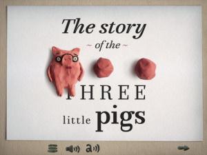 iOS限免、限時免費軟體app遊戲-Three little pigs 1