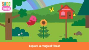 iOS限免、限時免費軟體APP遊戲-Sago Mini Forest Flyer 1