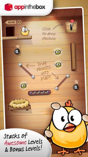 iOS限免、限時免費APP遊戲軟體-Drop The Chicken 2
