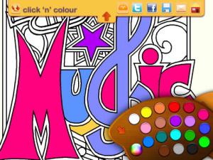 iOS限免、限時免費app軟體遊戲-Click 'N' Colour 2