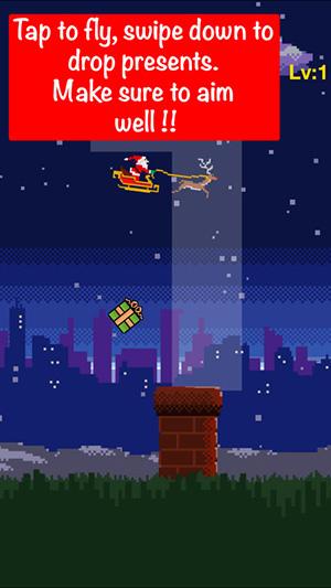 Santa Present Drop-2