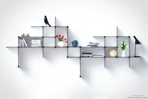 Medium Of Small Square Floating Shelves