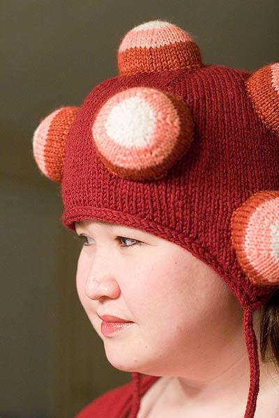 Knit Katamari Hat