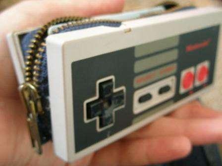 No Sew NES controller wallet DIY