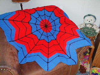 Spidermanrippleblanket