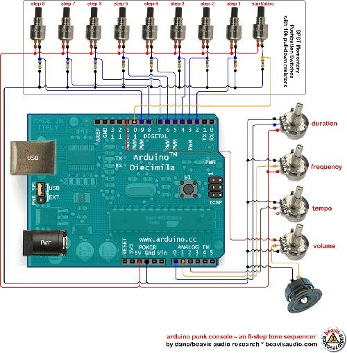 Arduinopunkconsole Wiringdiagram Rev0 Med