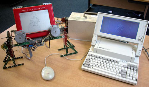 Computerized Etchasketch
