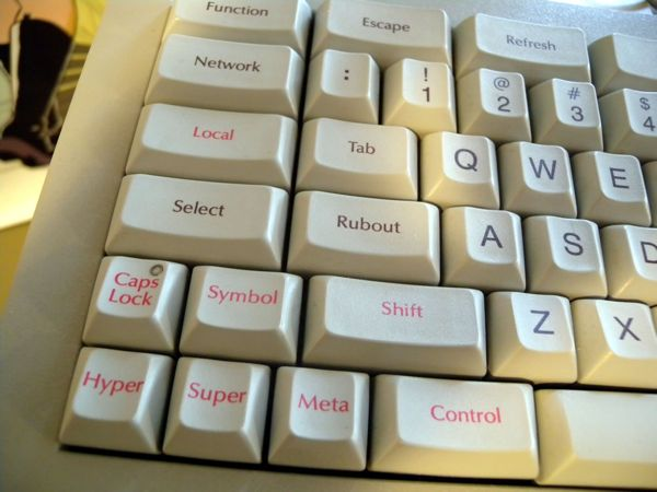 Lisp Machine Keyboard