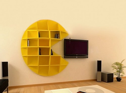 Pac Man Shelves Make