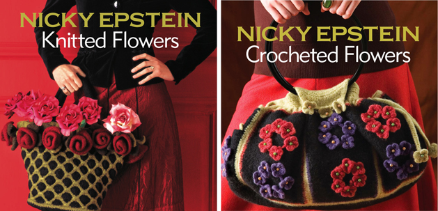 Covers Knitted Crochet Flowers