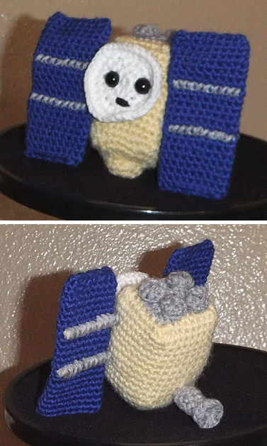 how to make a Hayabusa amigurumi